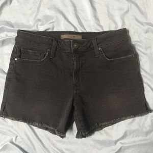 "Joe's Jeans lisbeth black 3"" shorts"